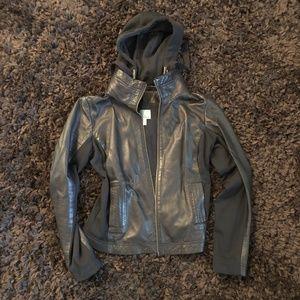 Leather Athleta Jacket